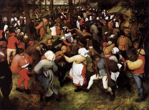 Pieter Bruegel The Elder - Wedding Dance in the Open Air