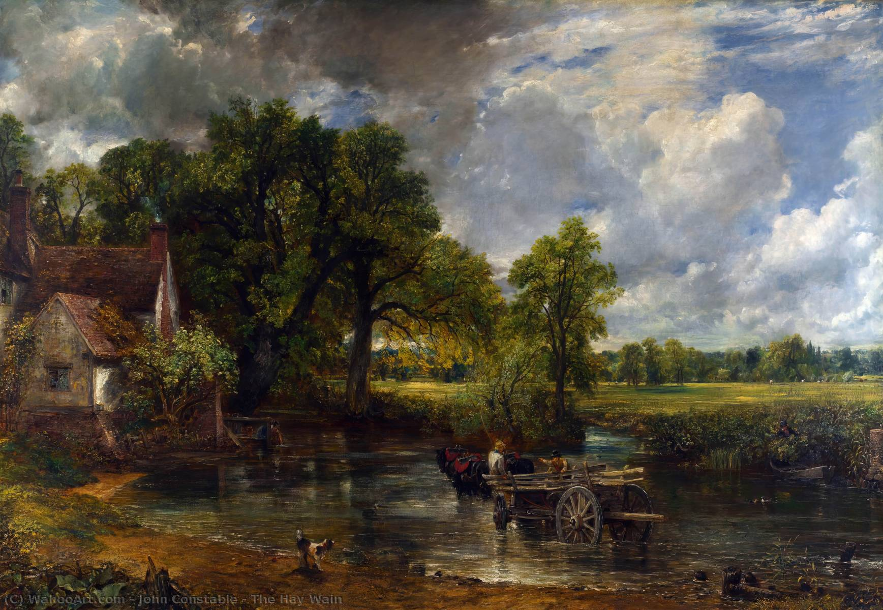 Order Museum Quality Copies | The Hay Wain by John Constable | AllPaintingsStore.com