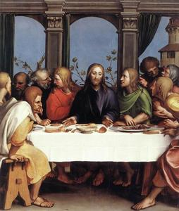 Hans Holbein The Younger - The Last Supper