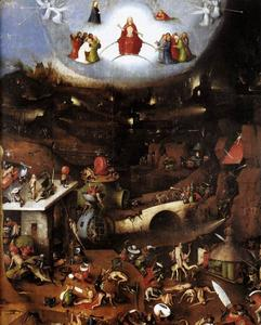 Hieronymus Bosch - Triptych of Last Judgement (central panel)