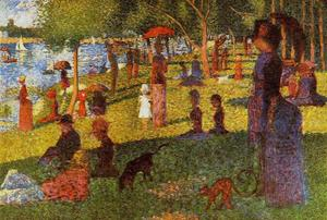 Paul Signac - An Afternoon at La Grande Jatte