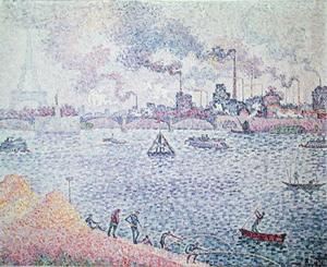 Paul Signac - The Seine, Grenelle