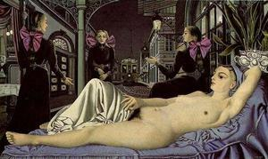 Paul Delvaux - The Public Voice
