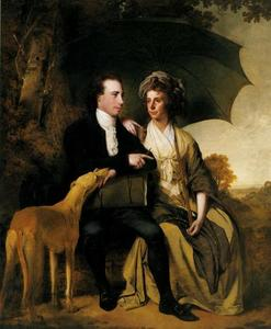 Joseph Wright Of Derby - Rev. Thomas Gisborne and His Wife Mary