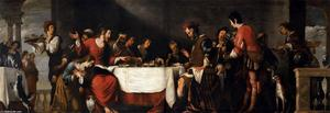Bernardo Strozzi - Banquet at the House of Simon