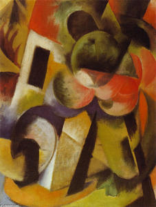 Franz Marc - Small Composition II
