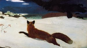 Winslow Homer - Fox Hunt