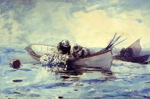 Winslow Homer - Herring Fishing