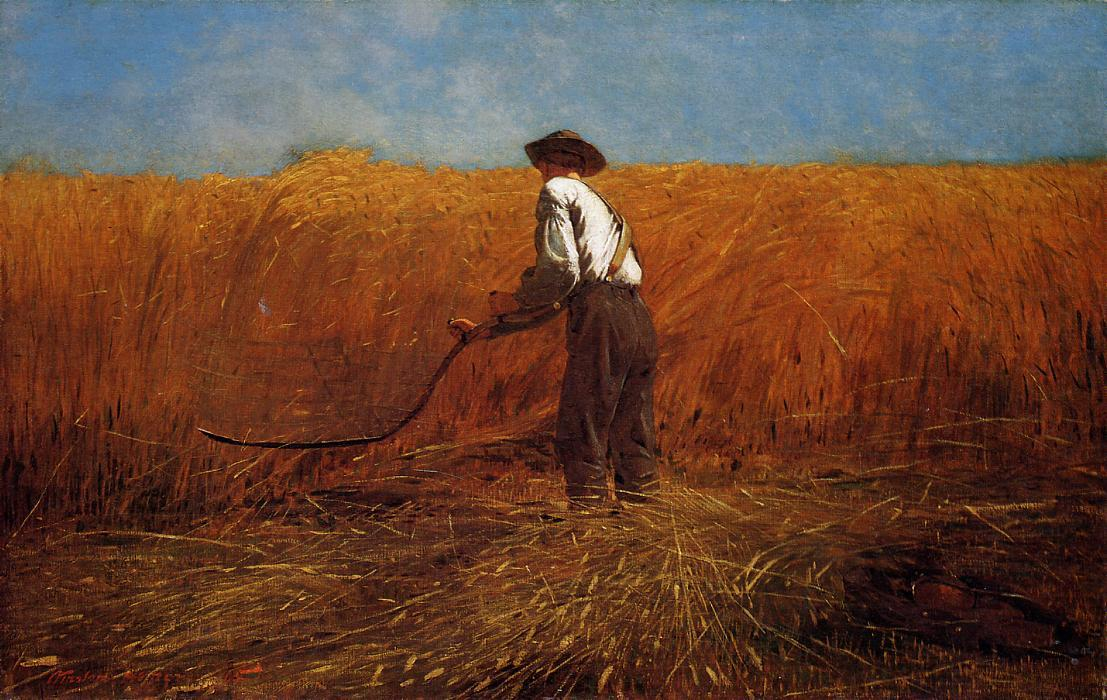 Order Reproductions | The Veteran in a New Field by Winslow Homer | AllPaintingsStore.com