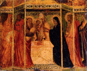 Agnolo Gaddi - Presentation Of Christ In The Temple