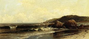 Alfred Thompson Bricher - Breaking Surf 1
