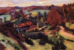 Jean Baptiste Armand Guillaumin - Crozant in Autumn