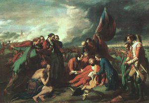 Benjamin West - The Death of Wolfe
