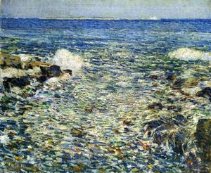 Frederick Childe Hassam - Surf, Isles of Shoals