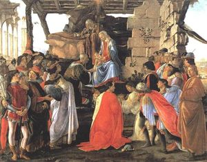 Sandro Botticelli - Adoration of the Magi 4