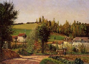 Camille Pissarro - Path of l'Hermitage at Pontoise