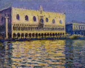 Claude Monet - The Palazzo Ducale 1