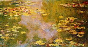 Claude Monet - The Water-Lily Pond 9