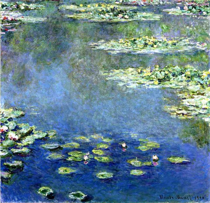 Order Paintings Reproductions | Water Lilies by Claude Monet | AllPaintingsStore.com
