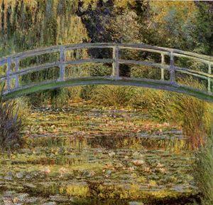 Claude Monet - Water-Lily Pond