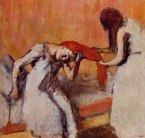 Edgar Degas - Combing the Hair 1