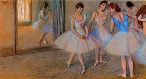 Edgar Degas - Dancers in the Studio