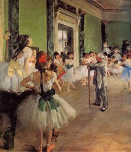 Edgar Degas - The Dance Class