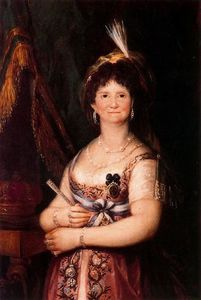 Francisco De Goya - Queen Maria Luisa 2