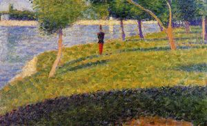 Georges Pierre Seurat - Cadet From Saint-Cyr