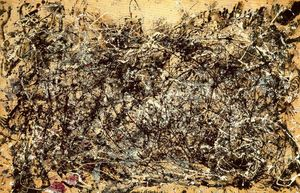 Jackson Pollock - Number 1A