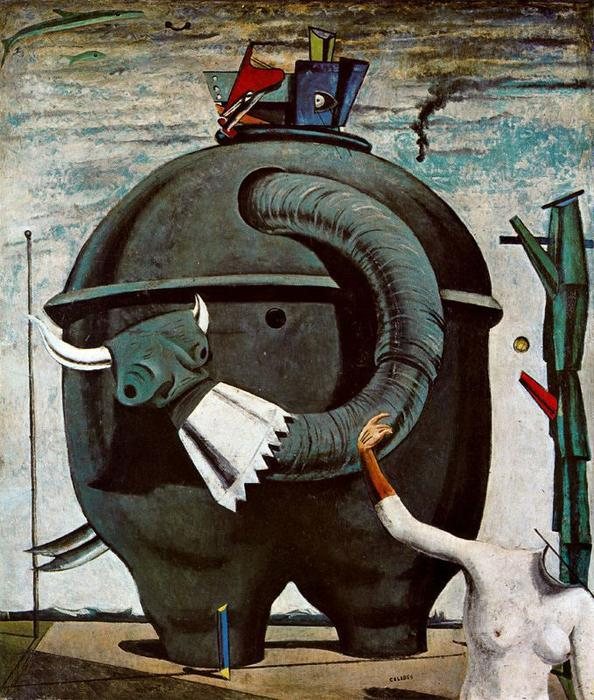famous painting Celebes of Max Ernst