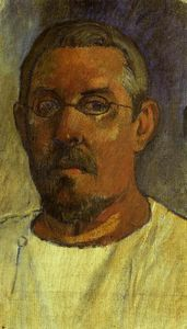 Paul Gauguin - Self portrait with spectacles