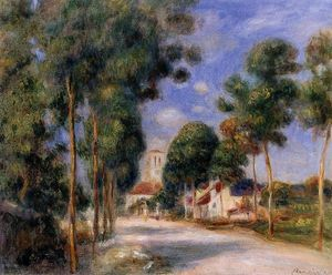 Pierre-Auguste Renoir - Entering the Village of Essoyes