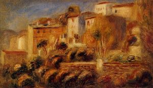 Pierre-Auguste Renoir - Houses at Cagnes 1