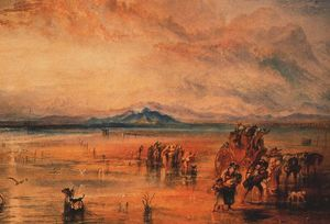William Turner - Lancaster Sands