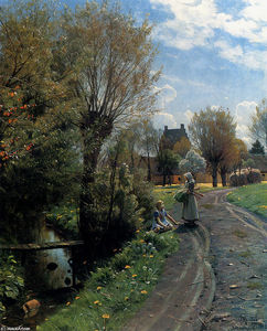 Peder Mork Monsted - By The River, Brondbyvester