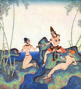 Edmund Dulac - The Pearl of the Bamboo