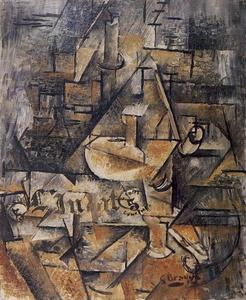 Georges Braque - The Candlestick