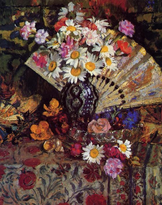 famous painting Still Life with Fan of Georges Lemmen