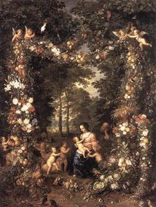 Jan Brueghel The Elder - The Holy Family 1