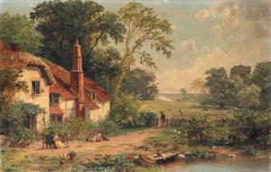 Jasper Francis Cropsey - Spring in England