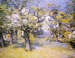 John Joseph Enneking - Through the Orchard