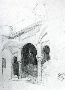 Mariano Fortuny - Muslim architecture