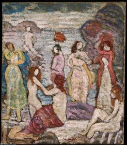 Maurice Brazil Prendergast - Eight Bathers