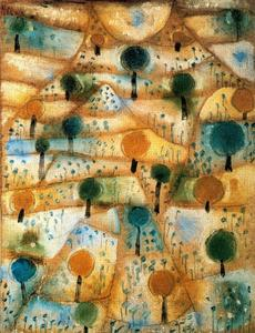 Paul Klee - Small Rhythmic Landscape