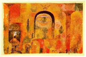 Paul Klee - With the eagle