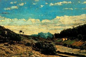 Paul Camille Guigou - Paisaje by the Provenza