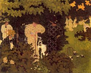 Pierre Bonnard - The croquet party