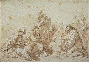 Sebastiano Ricci - Jesus instructing the apostles