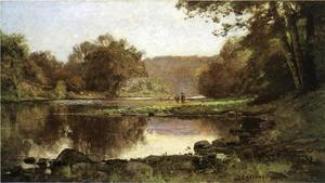 Theodore Clement Steele - The Creek